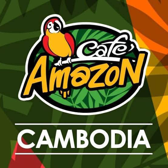 Amazon … ผู้นำร้านกาแฟในกัมพูชา