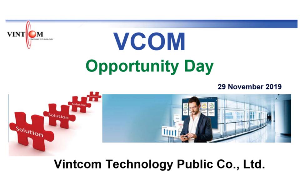 VCOM … กำไรโตเท่าตัว แต่ราคาไม่ไปไหน