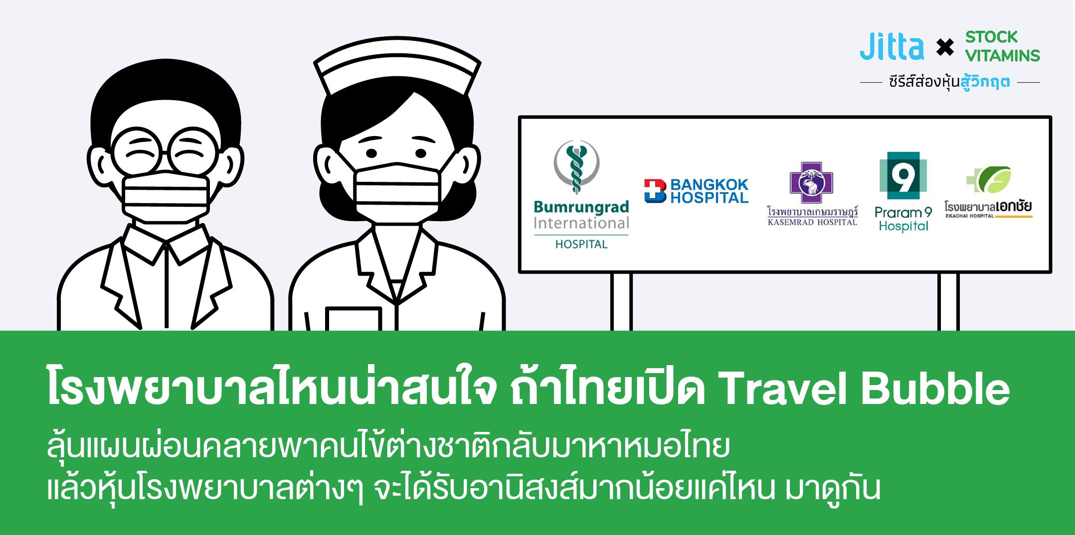 🏥 คนไข้ต่างชาติที่ลดลง กับหุ้นโรงพยาบาล 🏥